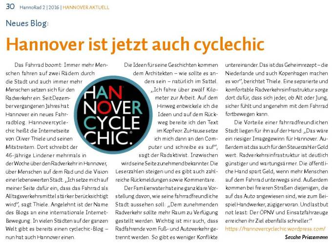 hannovercyclechic in der hannorad 2 2016